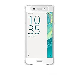 size 40 358d3 a38d2 SONY Mobile Smart Style Touch Cover Xperia X - White (B01CDNCWMU ...