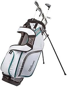 Wilson Prostaff Beginner Half Set, 6 golf clubs with stand