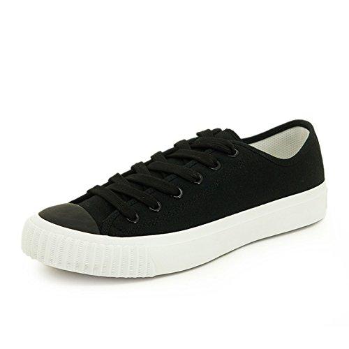 Autunnale e invernale scarpe con tela/Scarpe casuale basse/ scarpe comode-F Lunghezza piede=22.8CM(9Inch)