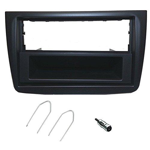 Kit Montage autoradio fa/çade pour Citroen C5 Peugeot 407 Argent Clair