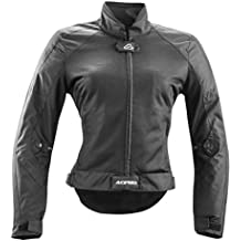 Chaqueta Moto Acerbis Ramsey My Vented Mujer Negro
