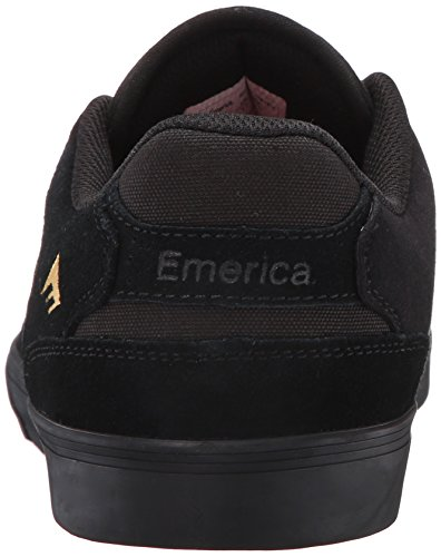 Emerica the Reynolds Low Vulc Gum, Scarpe da Skateboard Uomo, Marrone Noir (Black Gold 970)