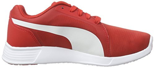 Puma St Trainer Evo, Sneakers Basses mixte adulte Rot (high risk red-white 04)