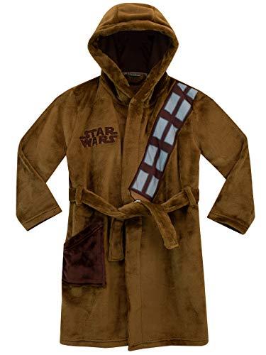 Star Wars - Bata para niños - Chewbacca - Marrón - 9-10 Años