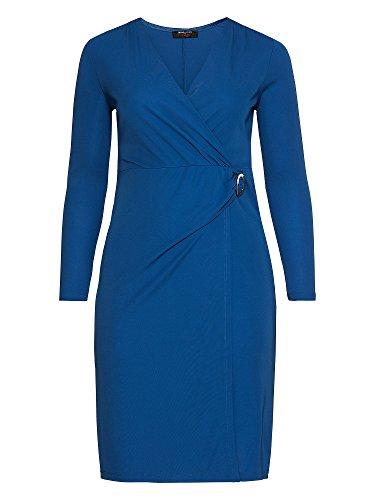 sheego by Anna Scholz Femmes Robe de soirée Grandes tailles Bleu