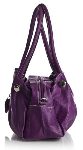 Big Handbag Shop, Borsa a spalla donna One Arancione