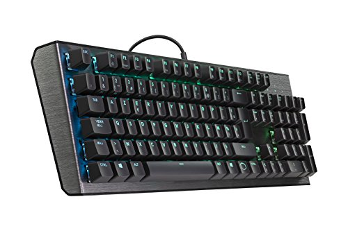 Cooler Master - CK550 - Clavier Mécanique Gaming RGB - AZERTY (PC/Consoles) Chassis aluminium