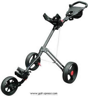 Masters 5 Series 3 Wheel Cart - Black
