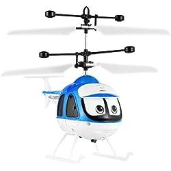 Bomcomi Induction Jouets Volants RC Helicopter Cartoon télécommande contrôle Drone Enfants Jouets Avion