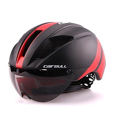 Cairbull Helmet Men/Women Cycling Helmet with Goggles Bike Racing Helmet Glasses 3 Visor Choose M(54-58 cm) L(58-62CM) from Cairbull Helmet