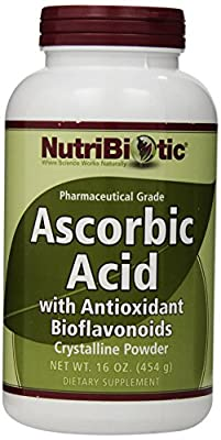 Ascorbic Acid with Antioxidant Bioflavonoids, Crystalline Powder, 16 oz (454 g)