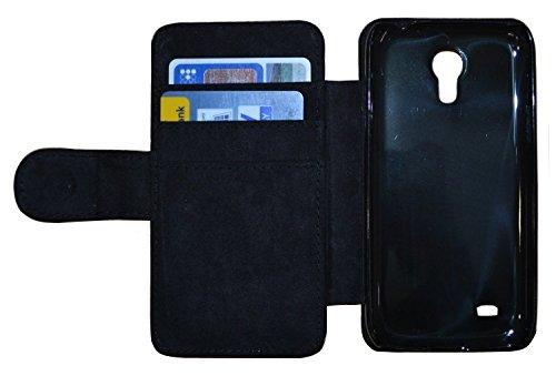 Case Schutz Hülle Flip Cover Handy Tasche Etui für (Apple iPhone 6 / 6s, 1068 Löwe Cartoon Braun Türkis) 1064 Anker Blau