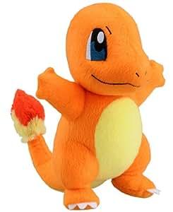 "Takaratomy New Pokemon N-09 X and Y Charmander/Hitokage 8.5"" Plush Doll"
