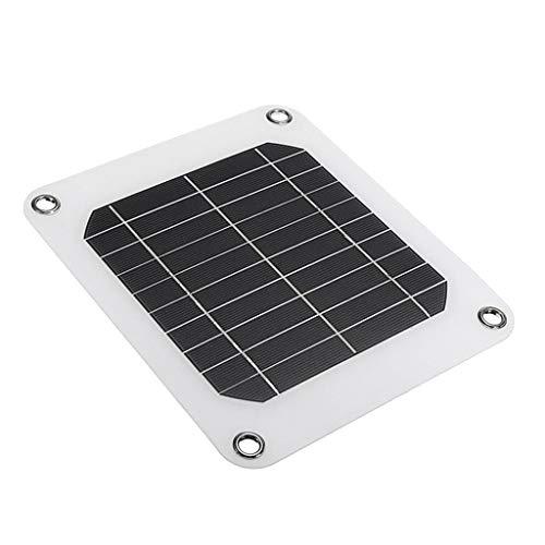 Continuamente nos esforzamos por ofrecer productos baratos de alta calidad y servicio excelente a clientes de tienda RT Technology.           Descripción:       - Nombre: Tablero de carga solar    - Potencia máxima: 5W    - Voltaje de funcion...