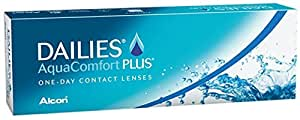 Dailies AquaComfort Plus Tageslinsen weich, 30 Stück / BC 8.7 mm / DIA 14 / -2 Dioptrien
