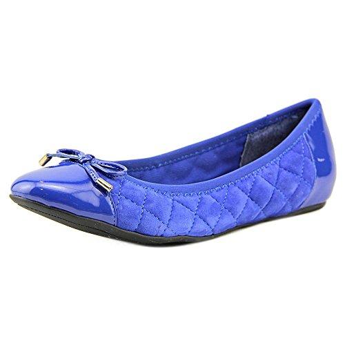 isaac-mizrahi-delite-damen-us-7-blau-breit-ballett-wohnungen