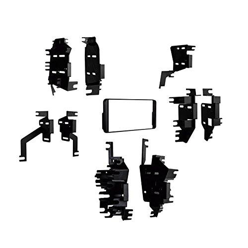 Metra 99-8300 Radiohalterung 2DIN / DIN Einbau-Kit für Toyota & Scion ab 2000, Pontiac Vibe, Subaru BRZ (Aftermarket Auto-konsole)
