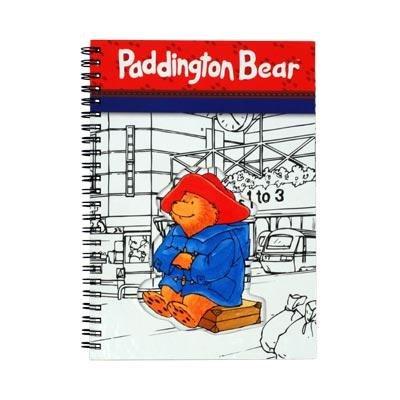 Paddington Bär Spirale gebunden Notebook Freisbezug Größe: A5 (Laptop Bären)