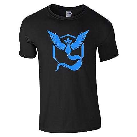GILDAN - T-shirt - Homme Noir Noir Taille Unique -