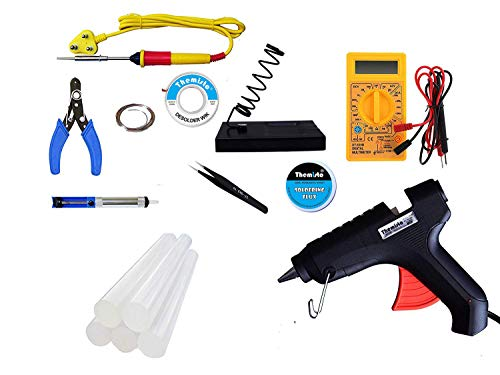 THEMISTO - built with passion 25W Electric Soldering Iron Kit Combo