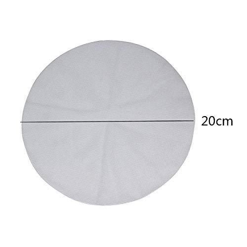 5 almohadillas de silicona antiadherentes de color blanco para vaporizador Dim Sum Paper Restaurante...