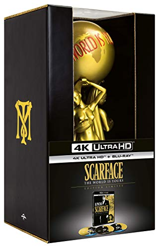 "Scarface [Édition limitée ""The World Is Yours"" - 4K Ultra HD + Blu-ray + Blu-ray Bonus + Statuette]"