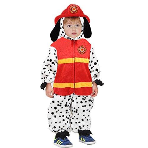 Costume carnevale cane pompiere vestito travestimento di pegasus - pe0688