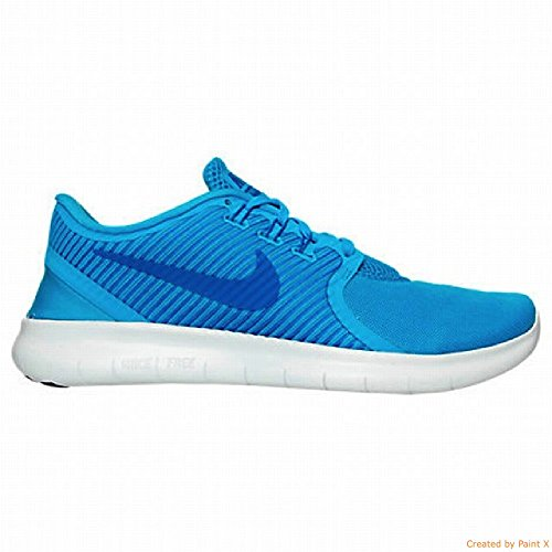 Nike Uomo Free RN Cmtr Scarpe Running Azul (Blue Glow / Hyper Cobalt-Wolf Grey)