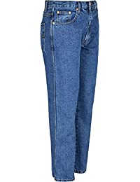 Mens Aztec Jeans Heavy Duty Work Trousers Inside Leg 27 & 29 Inches Big Sizes Waist 30 To 60