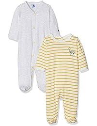 Petit Bateau Lot Db Gar, Camiseta de Pijama para Bebés