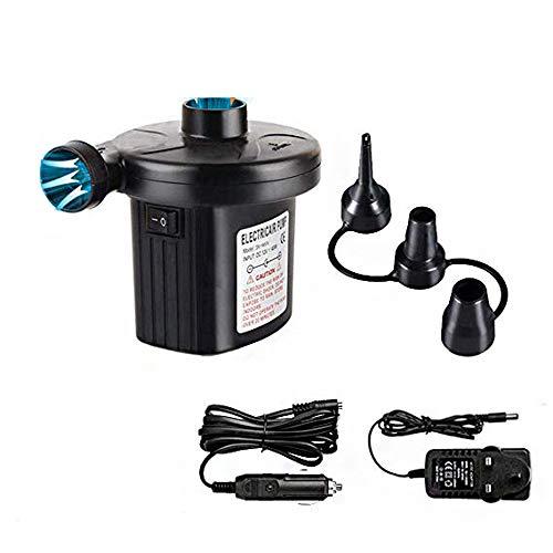 ERTO Aufblasbare Pumpe Haushalt Dual-Use Pumpe Auto Elektrische Pumpe Saug EuropäIschen Regeln Us Regeln (220V 12V)