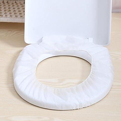 L'Univers Meilleur UB jetables de voyage en tissu non tissé pour abattant WC antibactérien Portable WC Pad Tapis de WC–Lot de 20
