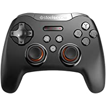 SteelSeries Stratus XL - Controlador de juegos inalámbrico, bluetooth, 14 botones, (Windows / Android / Samsung Gear VR / HTC Vive / Oculus), color negro