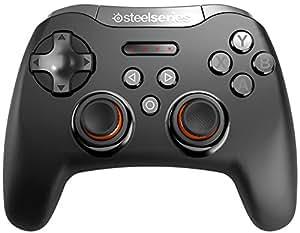SteelSeries Stratus XL, Contrôleur Gaming sans fil, Bluetooth, 14 Boutons, (Windows/Android/Samsung Gear VR/HTC Vive/Oculus) - Noir