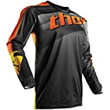 Maillot Cross THOR Pulse Velow - Noir / Orange - Gamme 2017 - Taille L