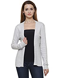 MansiCollections Grey Cardigan for Women