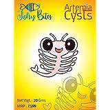 Fishy Bites BRINE Shrimp Eggs (Artemia CYSTS) 10G +10G Free (Total 20Gram Pack)