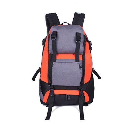 Il Sacchetto Della Cinghia Di Nylon Impermeabile Di Sport Esterni Dello Zaino Della Spalla Con Il Sistema Montato Sul Casco Orange