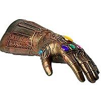 Thanos Latex Glove for Marvel Avengers 3 Infinity War Cosplay Gauntlet Gloves Halloween Costume