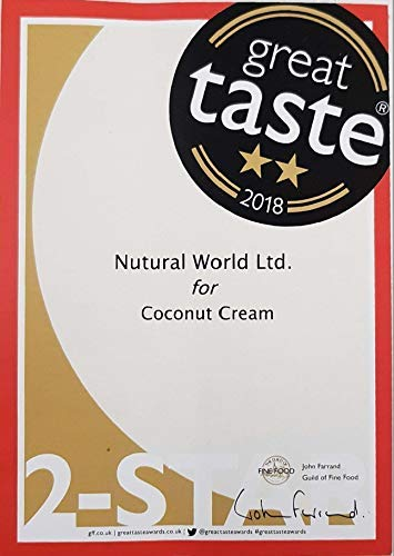 Nutural World - Coconut Cream (170g) Great Taste Award Winner 4