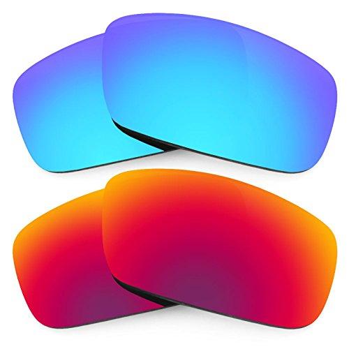 Revant Ersatzlinsen für Spy Optic Logan Polarisiert 2 Paar Kombipack K005