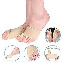 Socken mit Gel Pad | Bunion Sleeve | Hallux valgus Bandage | Ultradünne Korrekturschiene | Zehenspreizer Für Ballen... preisvergleich bei billige-tabletten.eu