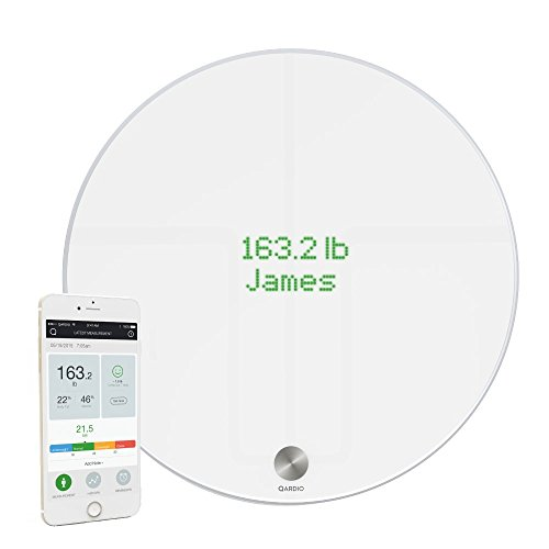 QardioBase Bilancia Wireless Smart, Bianco