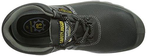 Safety Jogger BESTRUN, Unisex - Erwachsene Arbeits & Sicherheitsschuhe S3 Noir-TR-SW554