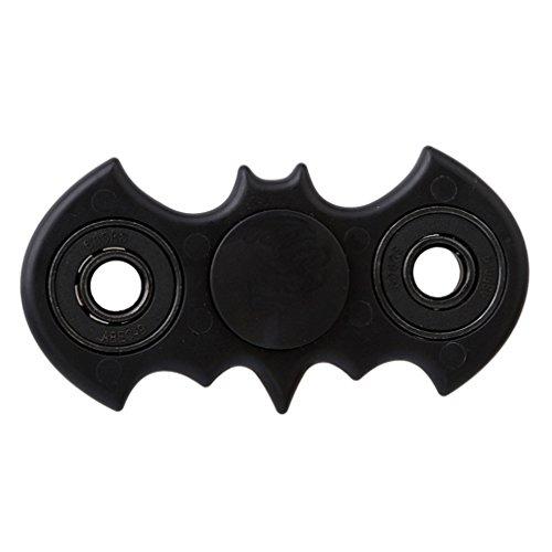 HENGSONG 1pc pipistrello giocattolo allevia lo stress e l'ansia migliore regalo di natale per bambini e adulti (Nero)