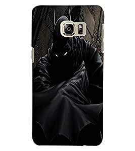 ColourCraft Scary Eyes Design Back Case Cover for SAMSUNG GALAXY S6 EDGE PLUS