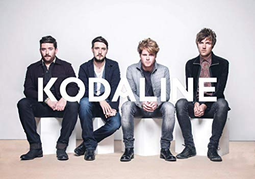 Kodaline Coming Up for Air Foto Druck Poster in A Perfect World Tour Shier 004 (A5-A4-A3) - A4 - Coming Kodaline Up Air For