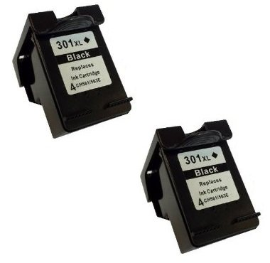 Prestige Cartridge 2 x HP 301XL Cartuchos de tinta, negro