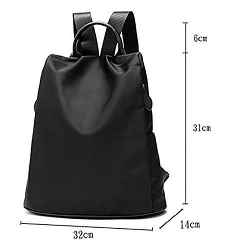 Respeedime , Damen Rucksackhandtasche Violett violett M schwarz