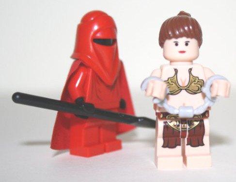 LEGO STAR WARS - Royal Guard mit Prinzessin Leia in Handschellen (Prinzessin In Star Wars)